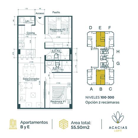 acacias_loft_0004_B y E 2 recamaras